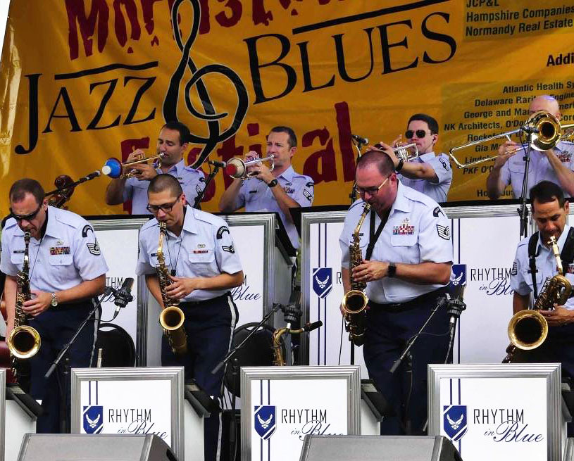 Rhythm in Blue Jazz Ensemble - Air Force Band - New Bern